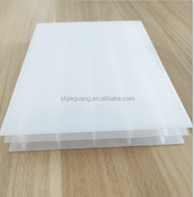 100% virgin bayer material building material triple wall pc/polycarbonate sheet