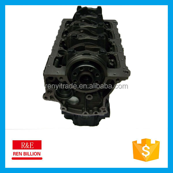 Engine Isuzu 4jb1 cylinder block for pickup and vans