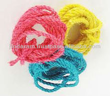 multi color sisal ropes