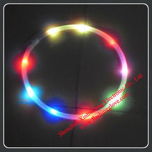 Multicolor and Superbright LED Flashing Hula Hoop