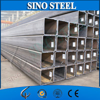 Galvanized steel rectangular pipe/SA 179 Carbon Steel Square Pipe