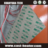 flexible Electric silicone rubber heater waterproof heating pad