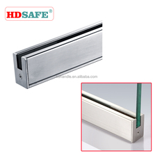Customize soundproof glass door fittings partition with high quality stainless steel material