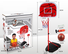 Hot selling 140cm vertical basketball board with ball, bicycle pump, wrench