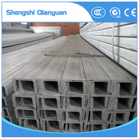 Hot Rolled Carbon U Type Steel Channel 120*75 for Building Material