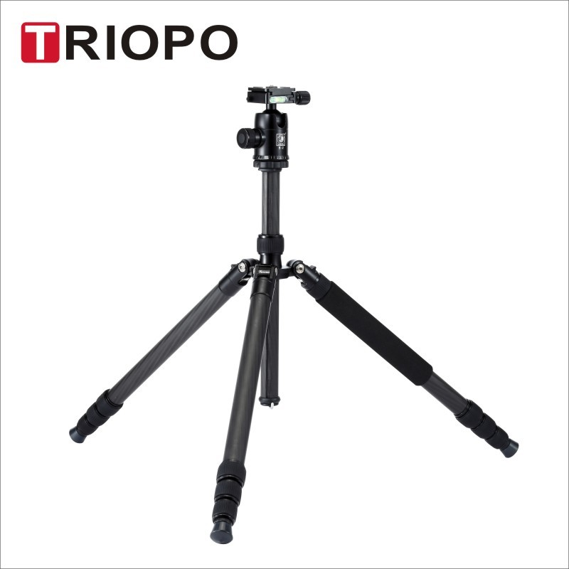 Triopo GT2804X8.C+B-2 built monopod &Ballhead for travel with all kind of DSLR camear