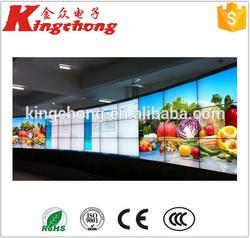 for spain market custom size lcd screen video wall 40 inch led monitor 4k 3840x2160 with dp