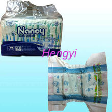 Disposable Competitive PE backsheet Baby Diapers Manufacturer in China for importer