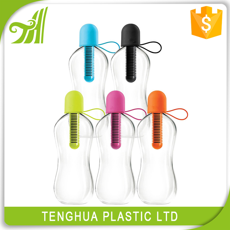 Plastic Carbon Filter Water bottle