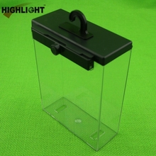S035 eas clear plastic safer box/keeper case for cosmetics protection
