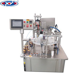 K cup filling machine/k cup sealing machine/k cup packaging machine.