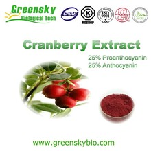 100% Nature Cranberry Extract 5%-50% PAC/Proanthocyanidin