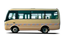 China microbus ZK6608D 20 seater bus 6m diesel mini bus for sale