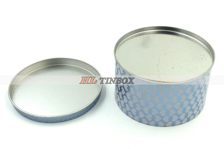 Round Tin Can Candy Tin Can Metal Gift Tin Can