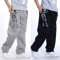 Tracksuit Pants Custom Mens Jogger Pants Warm Pants Winter Trousers
