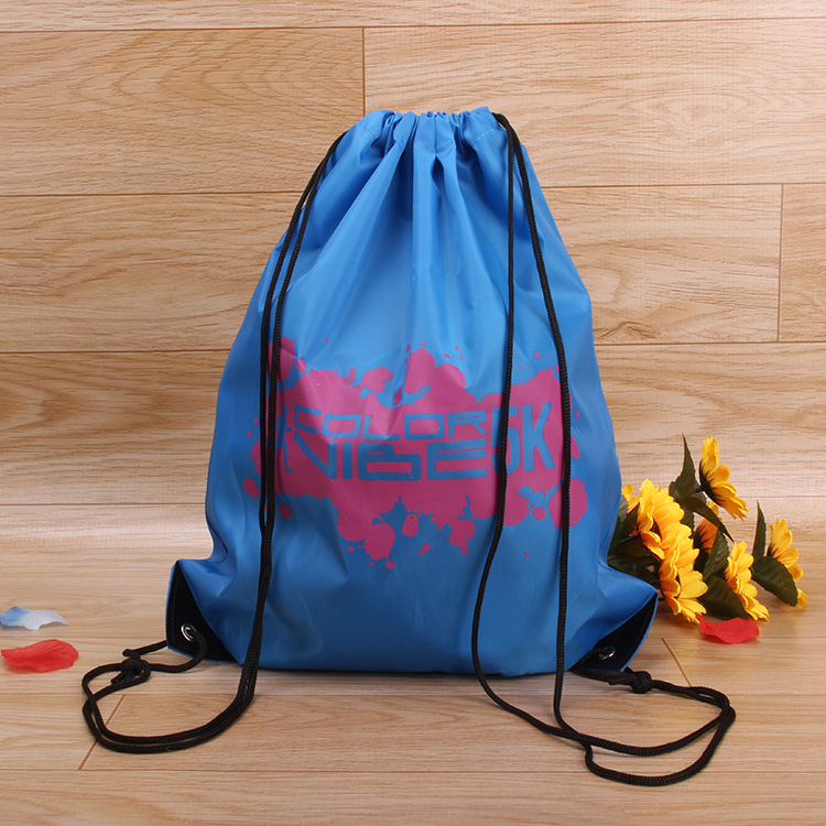 Alibaba china suppliers custom canvas travrl shopping drawstring bag for young people