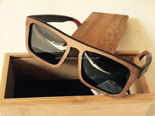 2015 Newest OEM Skateboard Wooden And Bamboo Sunglasses with Polarized Lens