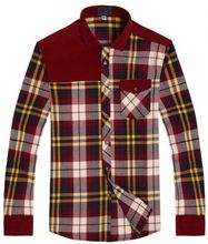 Hot promotion all kinds of men quilted flannel shirt with good price