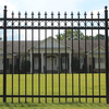 Height 1800mm or 2100mm cheap ornamental wrought iron fence