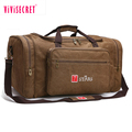 High Quality mens duffel bag reisetasche cotton canvas messenger shoulder travel bag for weekend