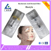 the wholesale 1ml Hastyle cosmetic plastic surgery nose cheek enhancement hyaluronik asit hyaluronic acid filler injection lips