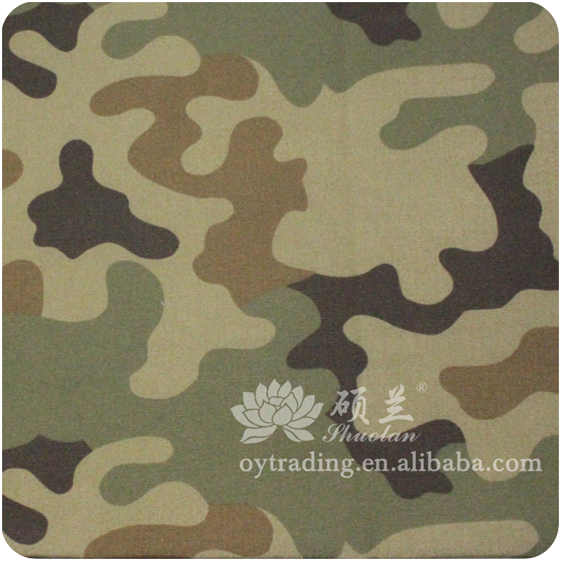 Experienced factory anti-static cotton camouflage workwear fabric