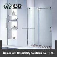 New products on china market shower glass door,frameless glass shower door,glass sliding shower door