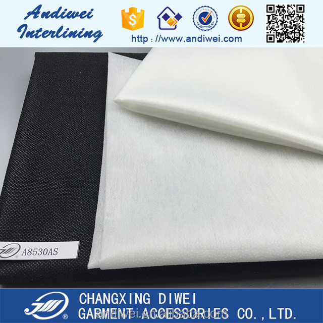 china 100% nylon non-woven lining fabric for bags