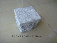most popular shandong grey granite cobble stone