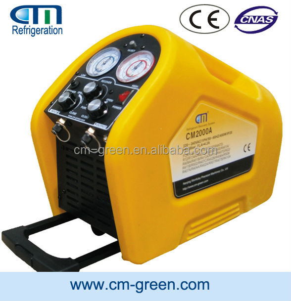 R134a Refrigerant Gas Recovery Recycling Unit with 24 Hours Continuous Running