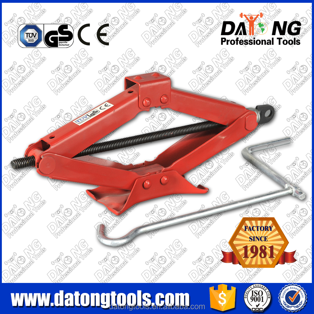 2T rv stabilizer jack manual scissor jack with CE&GS certificate