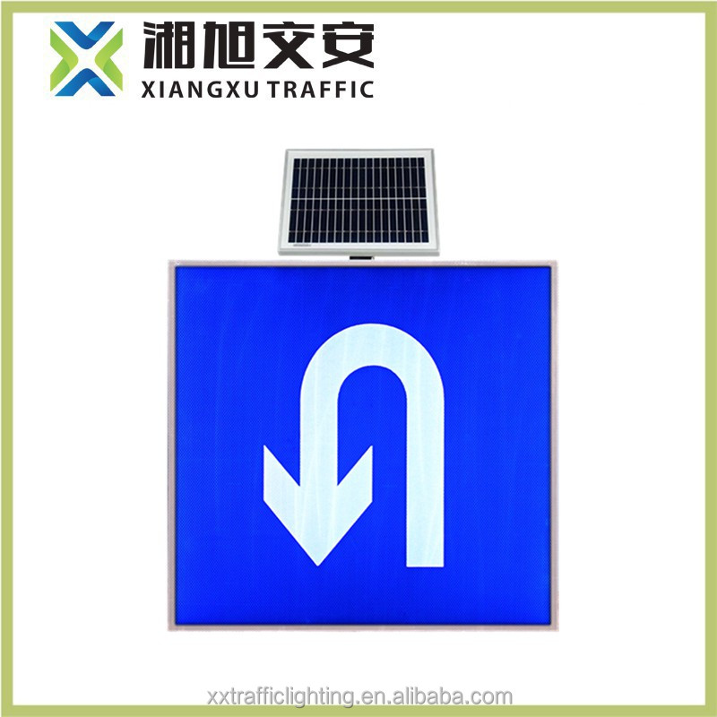 3M Reflective Film electric road safety sign/solar traffic sign board
