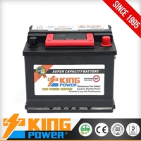 KING POWER Strong Power and Long Life 12V 62Ah European Car Battery Maintenance free Sealed Lead-Acid Auto Battery 56230MF