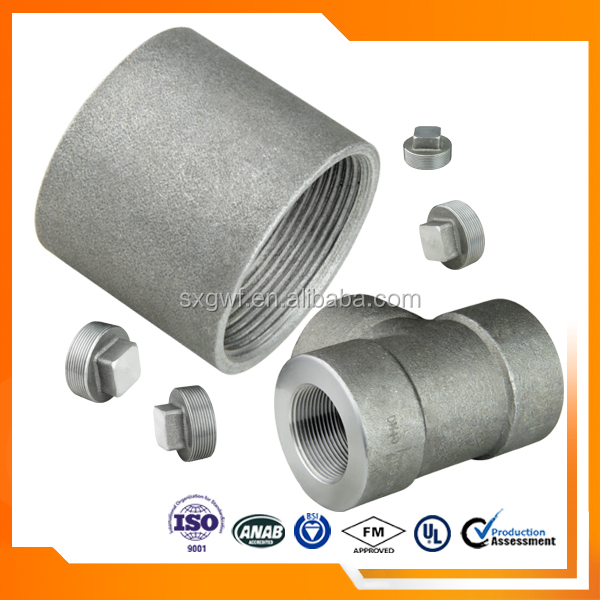 "Top selling 1"" high pressure forged pipe coupling"