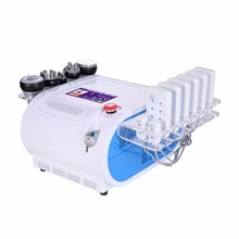 6 in 1 ultrasonic beauty rf fat vacuum cavitation machine slimming