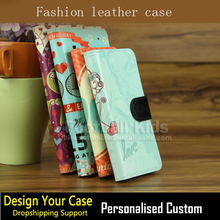 Personalized Custom For iPhone Leather Wallet Leather Cases,Luxury Flip Wallet Case for iPhone 7 7 Plus New Cases 2017