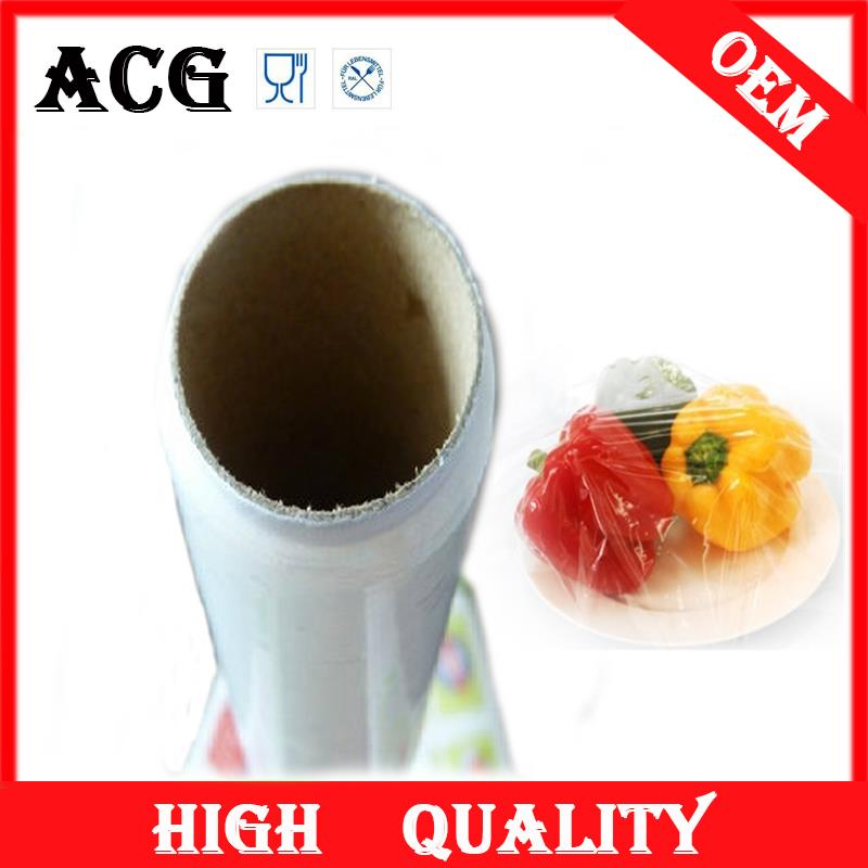 Fruits and vegetables heavy duty plastic wrap for catering
