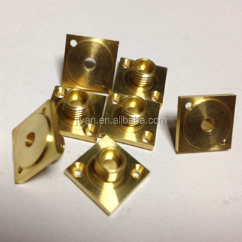 Guangdong Huizhou brass stainless steel aluminum cnc precision machining parts of Jiyan Factory