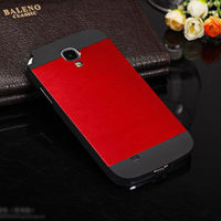 New Luxury Ultra Thin Brushed Aluminium Metal Case Cover For Samsung Galaxy S5 S4 iPhone 5 5s