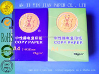 2014 hot sale high quality 70g/80g a4 copy paper manufacturer in China