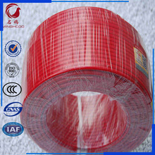 BV2.5mm red color PVC insulated Single core electrical cable wire prices