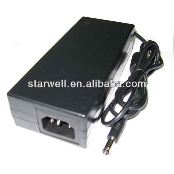 with UL ,CE,FCC,GS , 12V 10A desktop ac power adapter