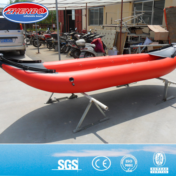 3.65m inflatable rubber kayak/ 2 person inflatable rubber kayak/