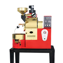 1kg 1.2kg topper quality good price home coffee roaster with hot air damper coffee roasting machine