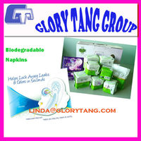 Biodegradable sanitary wisper pads with good price