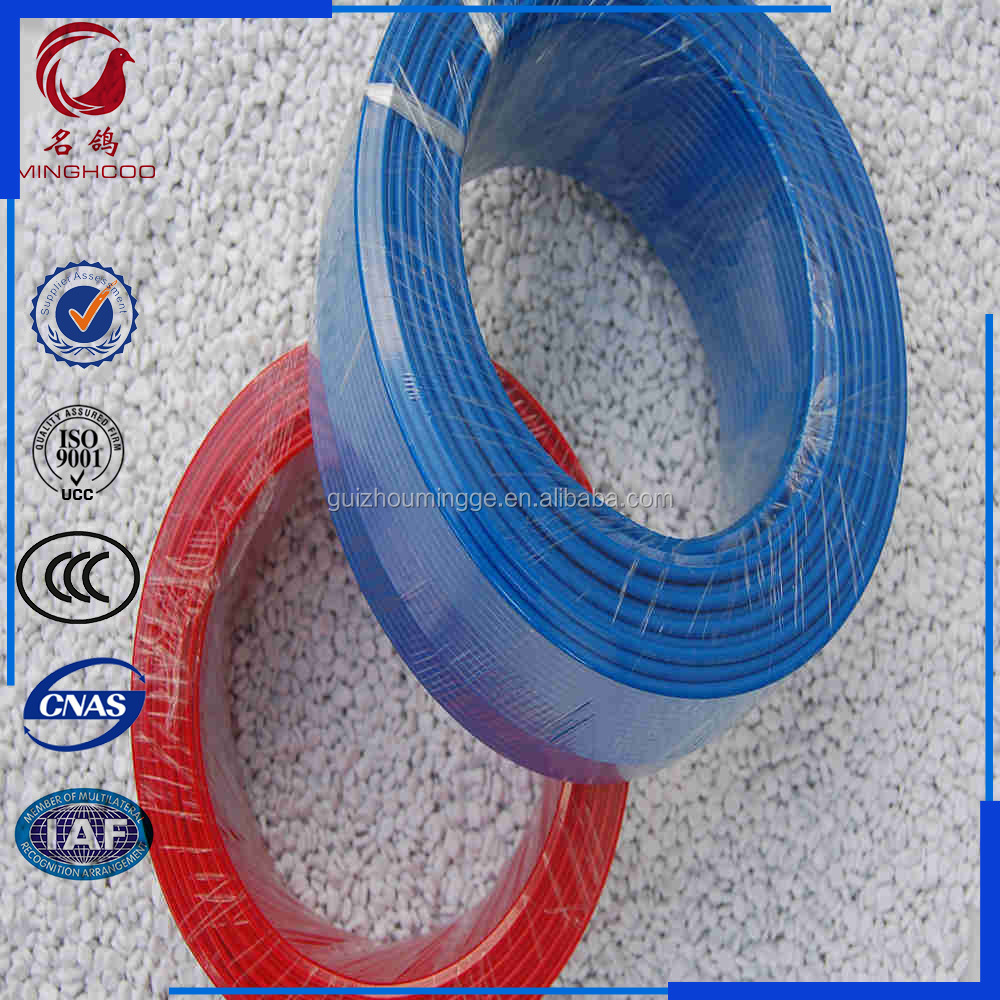 PVC Insulated copper solid or stranded or flexible conductor 2.5mm electric wire cable