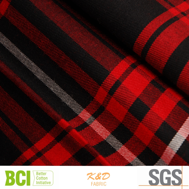 wholesale check cheap twill viscose fabric of 32s
