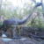 Animatronic mechanical saltasaurus dinosaur for theme park