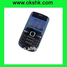 C3 beautiful Quad-band GSM mobile phone with WIFI and Full QWERTY keyboard Bluetooth Camera