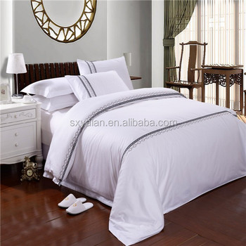 Hotel Bed Linen Made In China Wholesale 100% Cotton 5 Star Linen